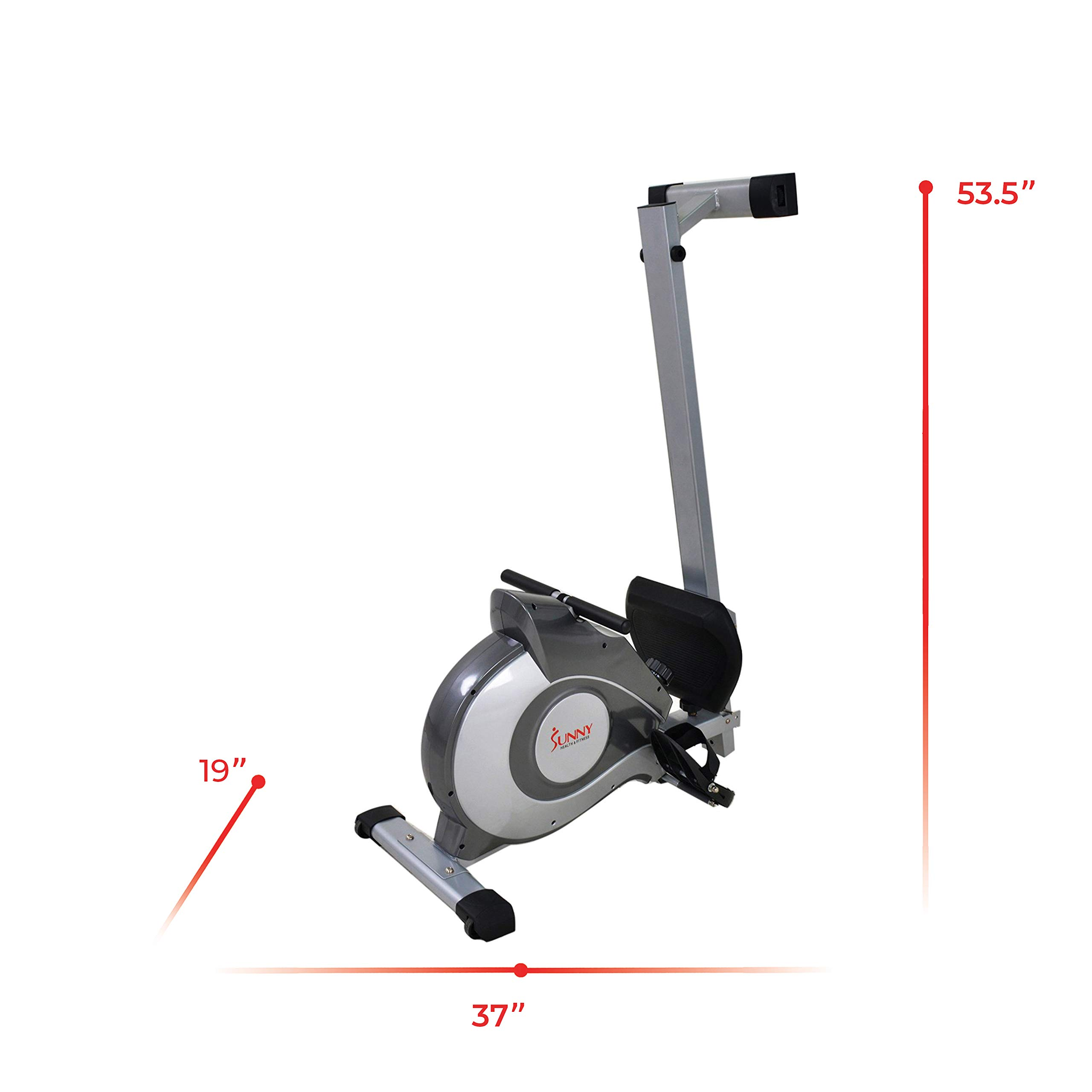 Sunny Health & Fitness Magnetic Rowing Machine with LCD Monitor by SF-RW5515 by Sunny Health & Fitness (Image #13)