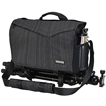 CADeN Bolsa para cámara - con Cubierta contra la Lluvia Acceso rápido Puede acomodar 1 cámara 3 Lentes 1 trípode y Otros Accesorios fotográficas para ...