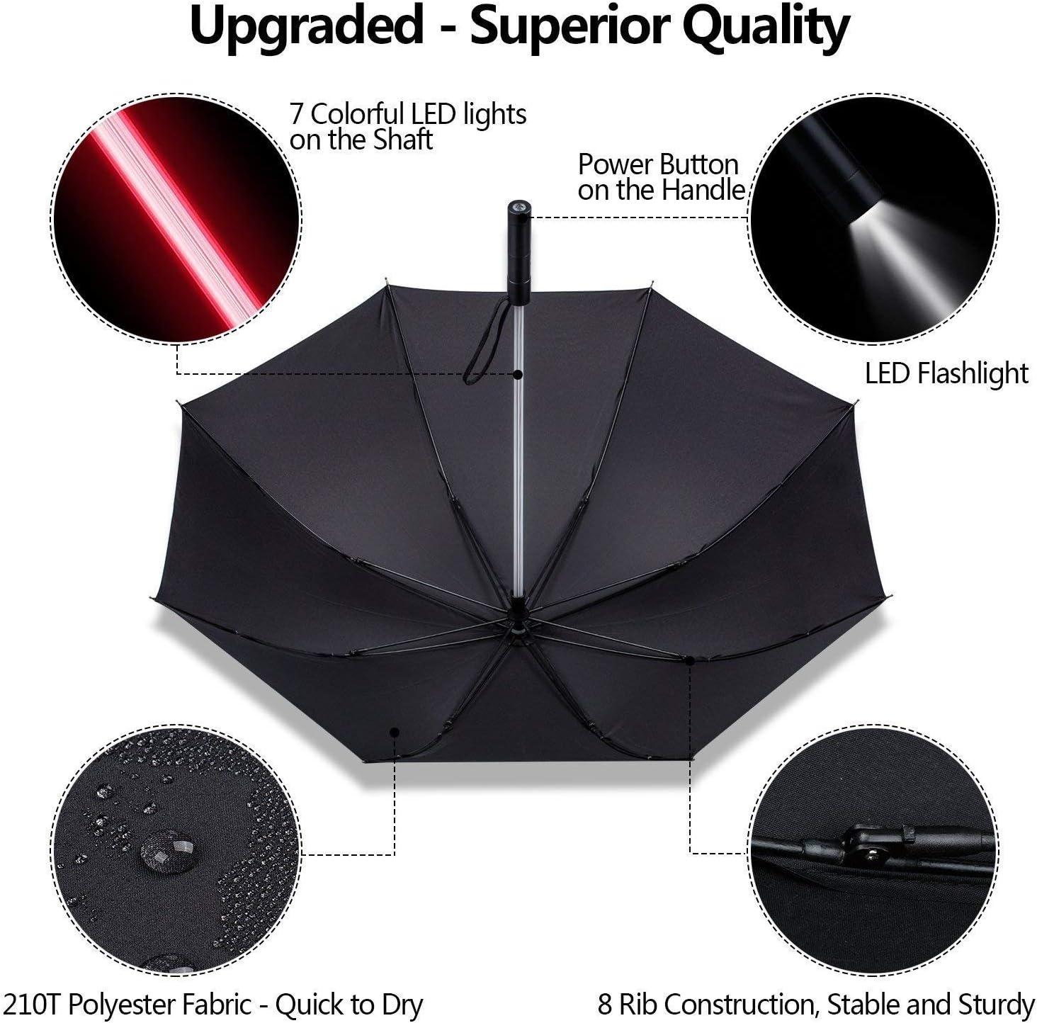 Ombrello A LED-Multi Funzione Cambia Colore