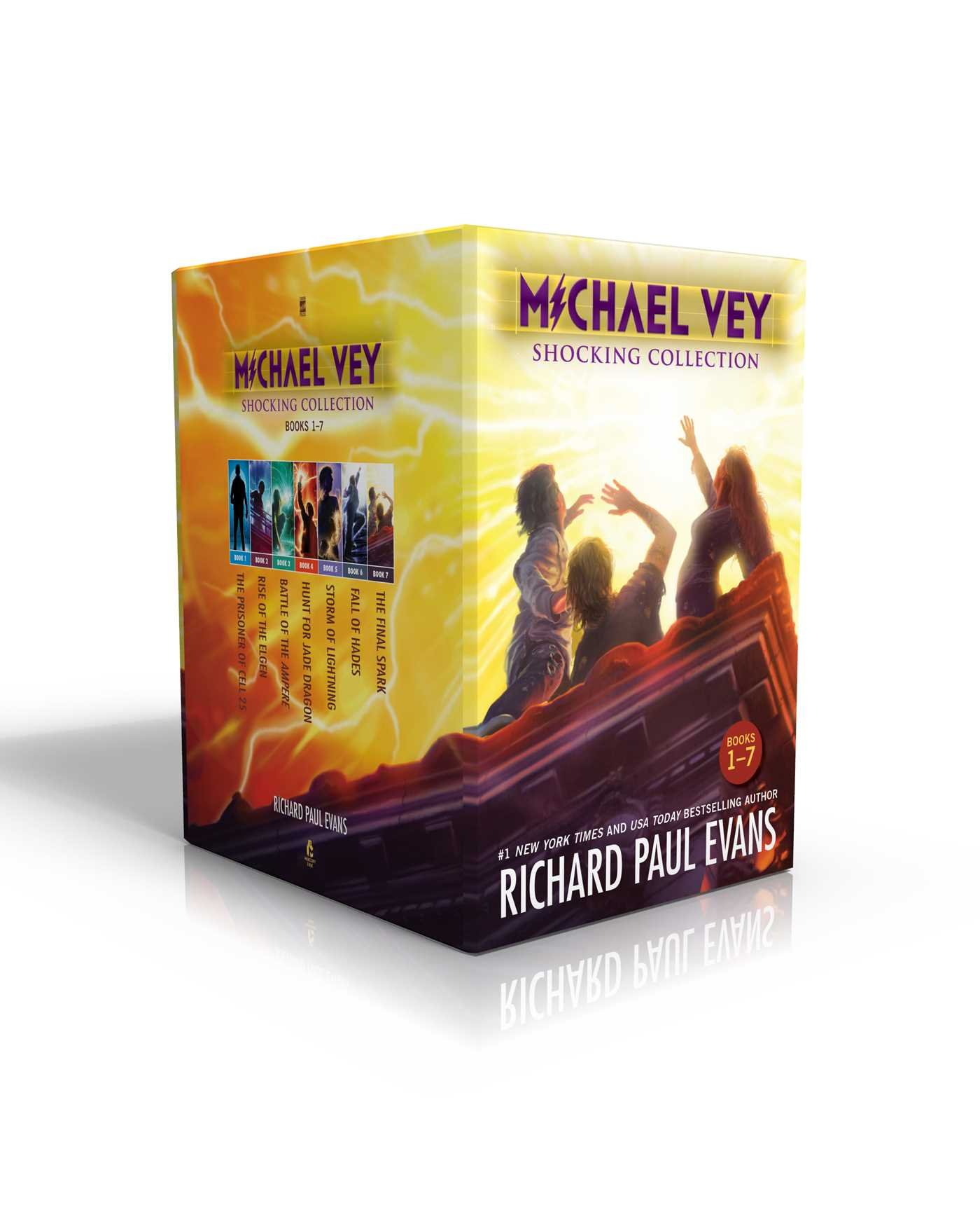 Michael Vey Shocking Collection Books 1-7: Michael Vey, Michael Vey 2, Michael Vey 3, Michael Vey 4, Michael Vey 5, Michael Vey 6, Michael Vey 7 by Simon Pulse/Mercury Ink