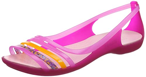 92db21df173325 crocs Damen Isabellafltsndl Ballerinas  Crocs  Amazon.de  Schuhe ...
