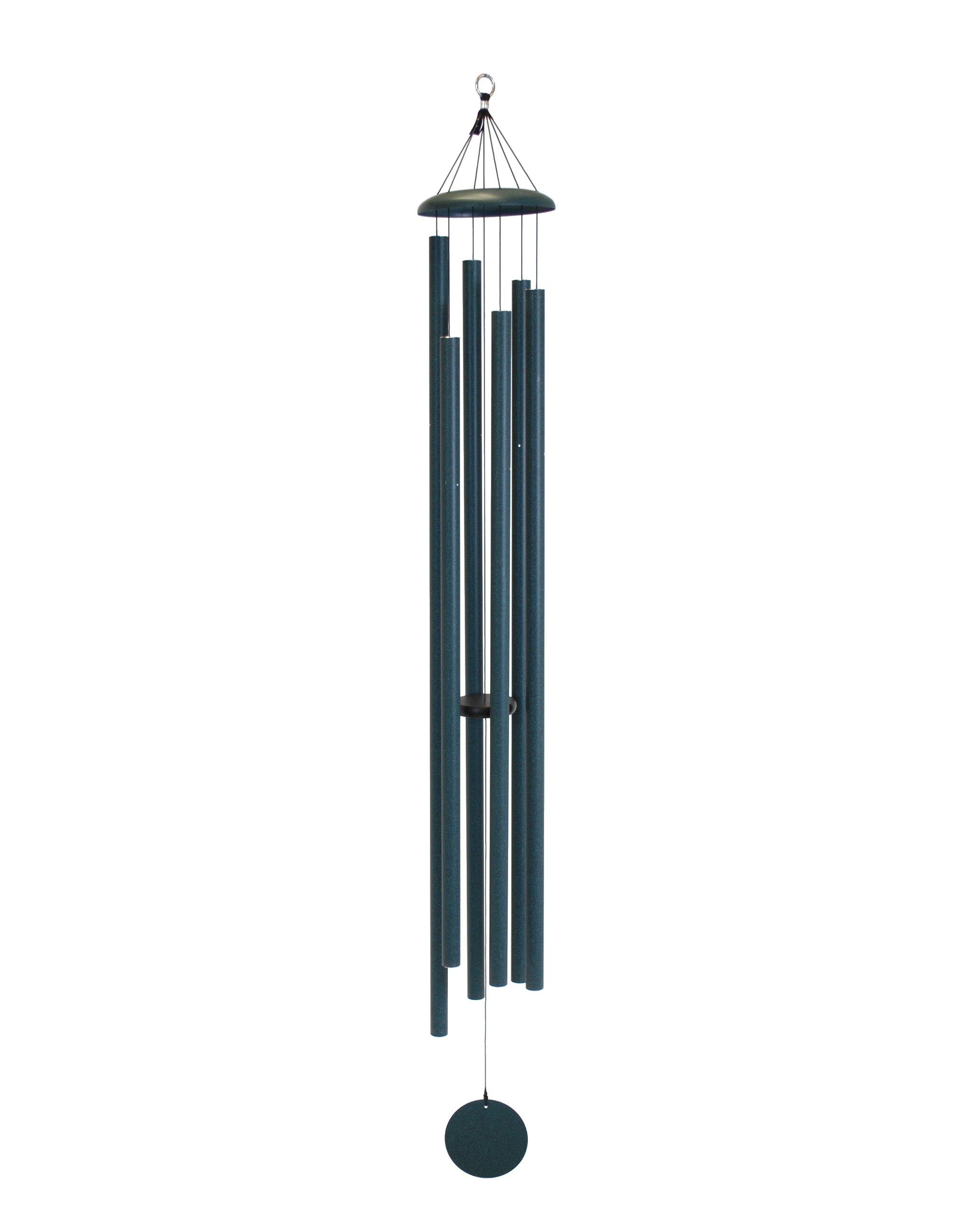 Corinthian Bells 74-inch Windchime, Green