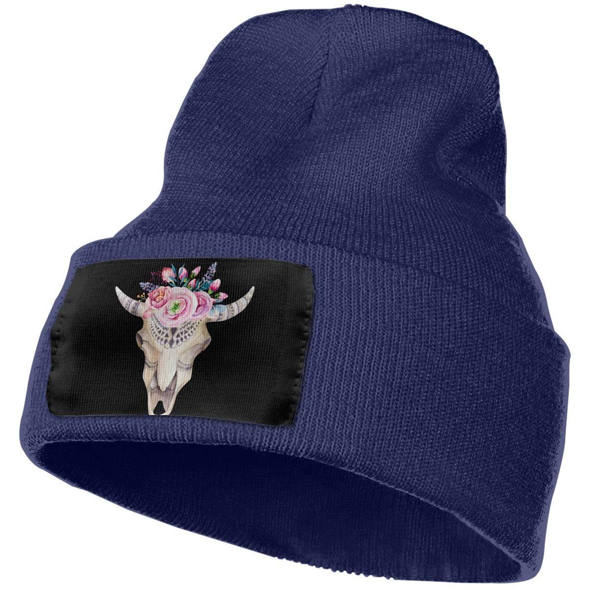 SLADDD1 Bohemian Sheepshead Warm Winter Hat Knit Beanie Skull Cap Cuff Beanie Hat Winter Hats for Men /& Women