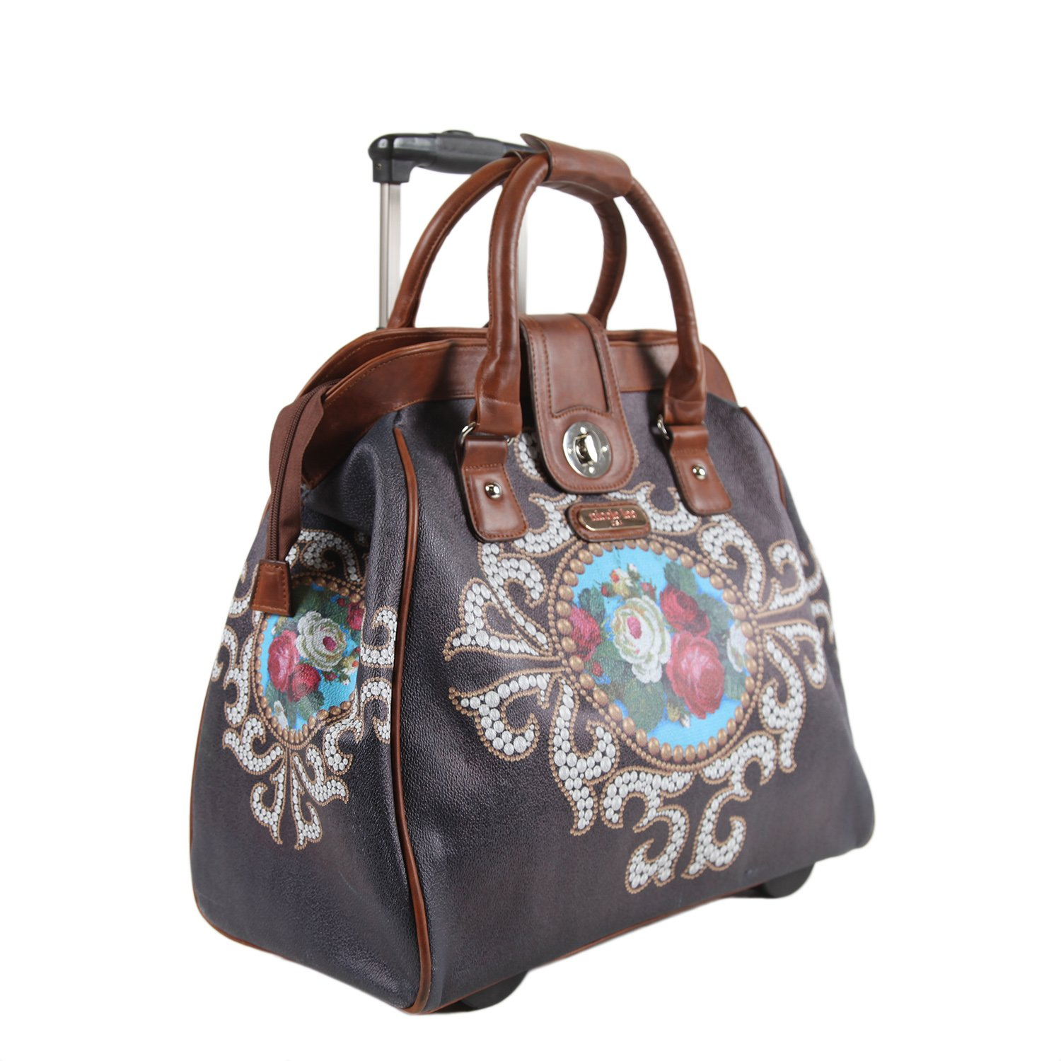 Nicole Lee Cheri Rolling Business Tote, Rose Pearl, One Size by Nicole Lee (Image #6)