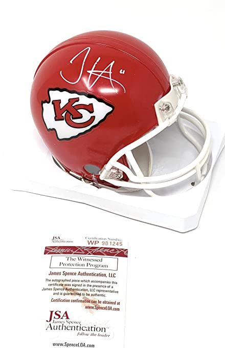 862928940 Tyreek Hill Kansas City Chiefs Signed Autograph Mini Helmet JSA Witnessed  Certified