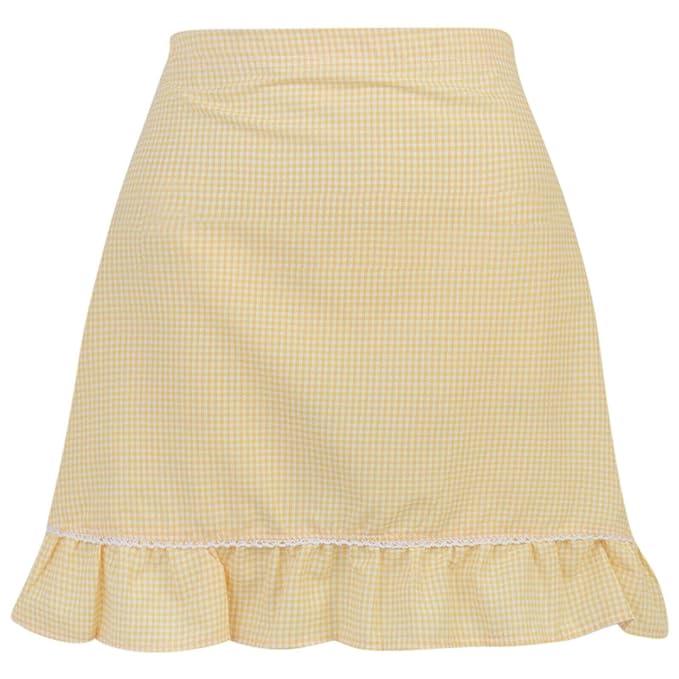 Paradise Girls School Gingham Skirt Elasticated Back Summer School Uniform 5-16 Years New