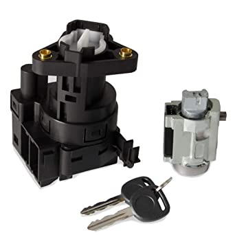 Amazon Com Compatible With Chevy Malibu Impala Olds Alero Pontiac Grand Am Switch Ignition Lock Cylinder With 2 Keys Replace Number 12458191 22599340 Model A Industrial Scientific