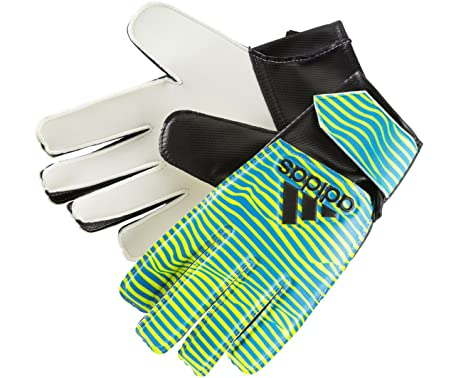 adidas Torwarthandschuhe X Junior Training gelb / blau