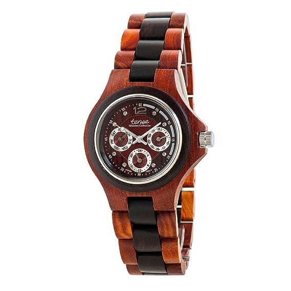 Tense Wood Watches G4300SD - Reloj para hombres