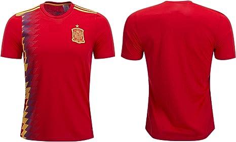 S.F.A Camiseta de fútbol de España para adulto, tamaño de fútbol, regalo de calidad, Home, XL: Amazon.es: Deportes y aire libre