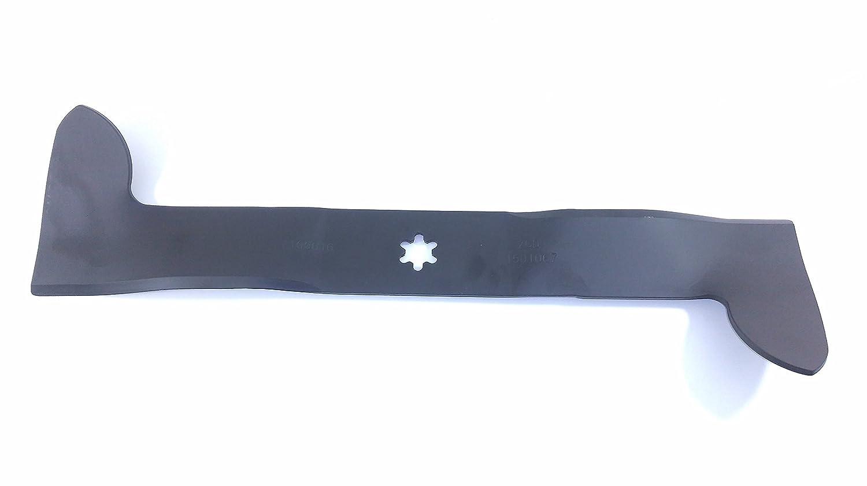 Hoja recta 6 estrellas Tractor cortacésped corte para AYP 92 cm ...