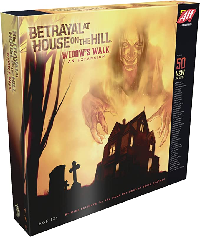 Avalon Hill/Wizards of the coast c01410000 – Betrayal at House on the Hill: Widow s Walk – Inglés , color/modelo surtido: Amazon.es: Juguetes y juegos