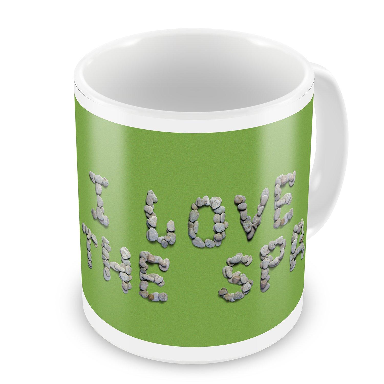 Coffee Mug I Love The Spa Spa Stones Rocks - NEONBLOND