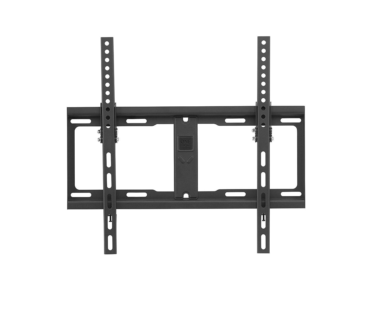 Tous types de t/él/éviseurs WM4611 Support plat SOLID de One/For/All Fixation murale Noir /Écrans de 32 /à 84/pouces
