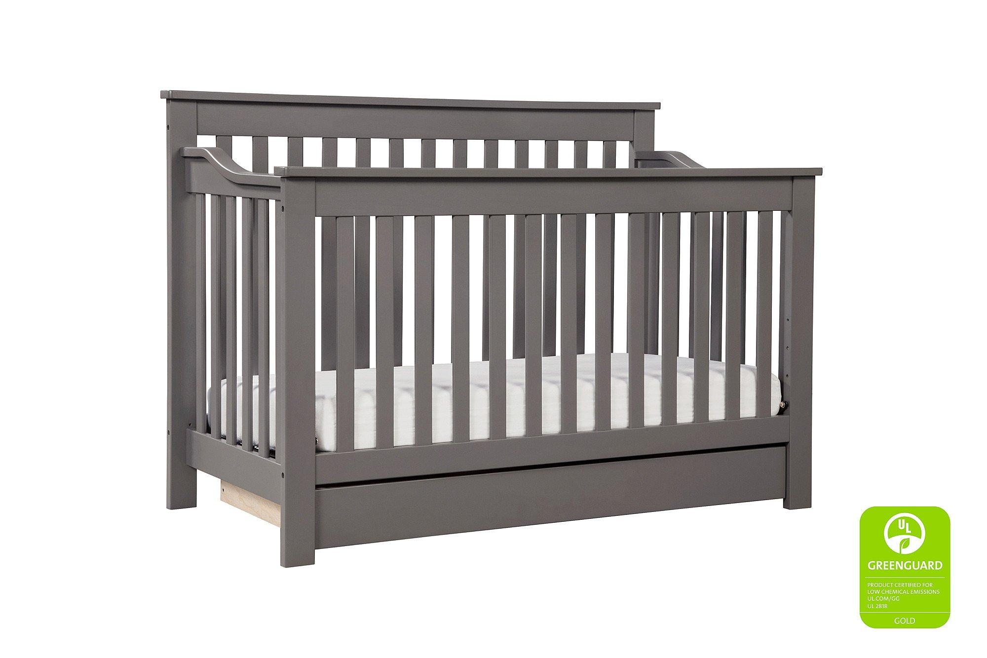 DaVinci Piedmont 4-in-1 Crib Full Size Conversion Kit Bed Rails - Slate