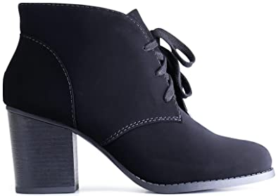 1dc43c03d480 MARCOREPUBLIC Marco Republic Stockholm Womens Medium Mid Heels Ankle  Booties Boots