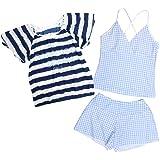 17b9f41fd712fa Amazon | FIORUCCI(フィオルッチ) 水着 2点セット 子供 ジュニア 女の子 ...