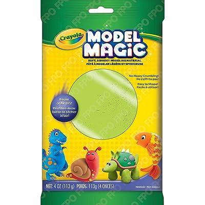 Crayola Model Magic, Neon Green, Modeling Clay Alternative, 4 Ounces (57-6001-0-095): Toys & Games