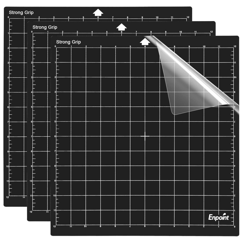 8 x 12 inch Cameo Cutting Mat Self Healing Cutting Mat for Craft Sewing Scrapbooking 3Pcs Standardgrip Silhouette Cutting Mat