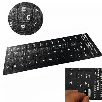 T-CLA-2 Pegatina Real (No Digital) para Teclado de Ordenador portátil Negro Compaq en español Negra.: Amazon.es: Electrónica