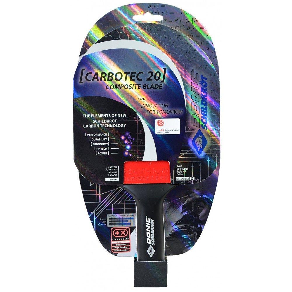 Amazon.com : DONIC Original Carbotec 20 Table Tennis Bat : Sports & Outdoors