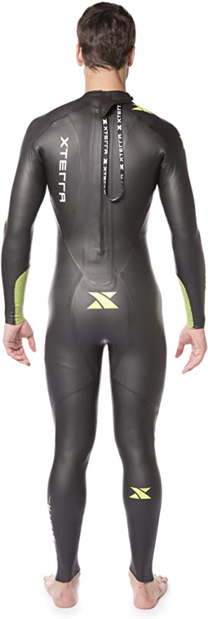 Xterra Wetsuits - Mens Volt Triathlon Wetsuit - Full Body Neoprene Wet Suit (3mm Thickness)   Designed for Open Water Swimming - Ironman & USAT ...
