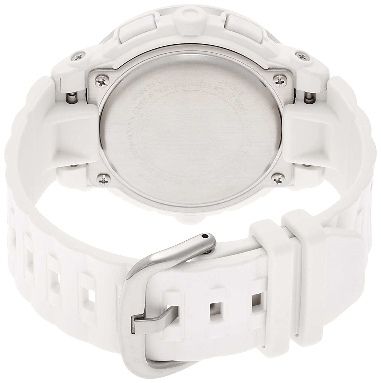 Casio Baby G Female White Analogue Digital Watch Bga 150ef 7b Babyg Bg 169r 4bdr 7bdr Fashion