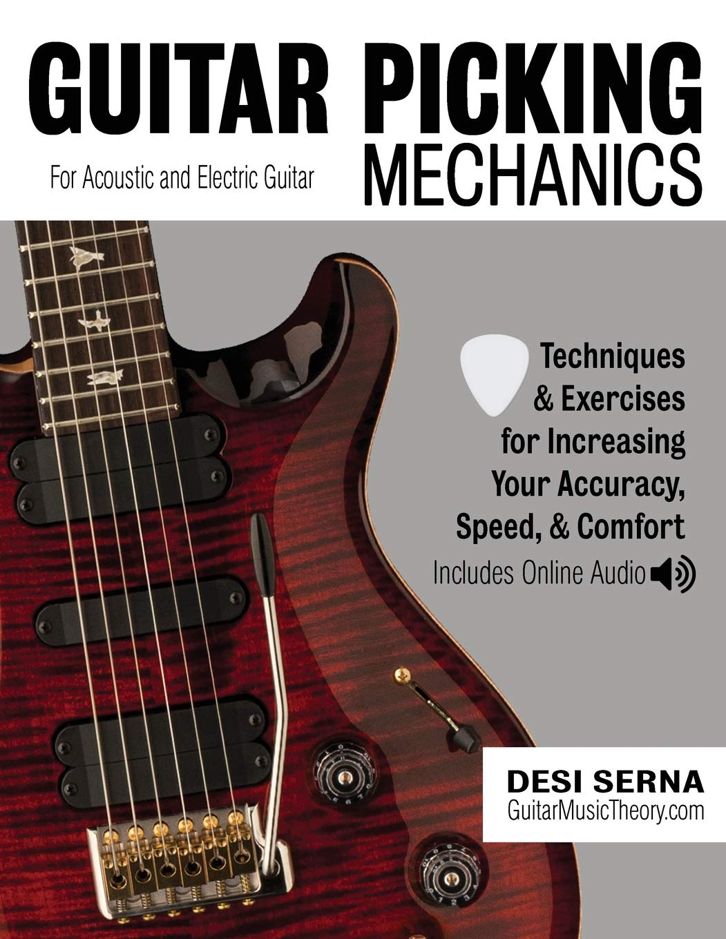 Read Online Guitar Picking Mechanics: Techniques & Exercises for Increasing Your Accuracy, Speed, & Comfort (Book + Online Audio) PDF
