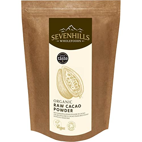 Sevenhills Wholefoods Organic Raw Cacao/Cocoa Powder 1kg