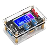 DC Buck Module, DROK Adjustable Step Down Voltage Buck Converter 6V-32V 30V 24V 12V to 1.5-32V 5V 5A LCD Power Supply Volt Reducer Regulator Transformer Module Board with USB Port Protective Case (Tamaño: 5A)