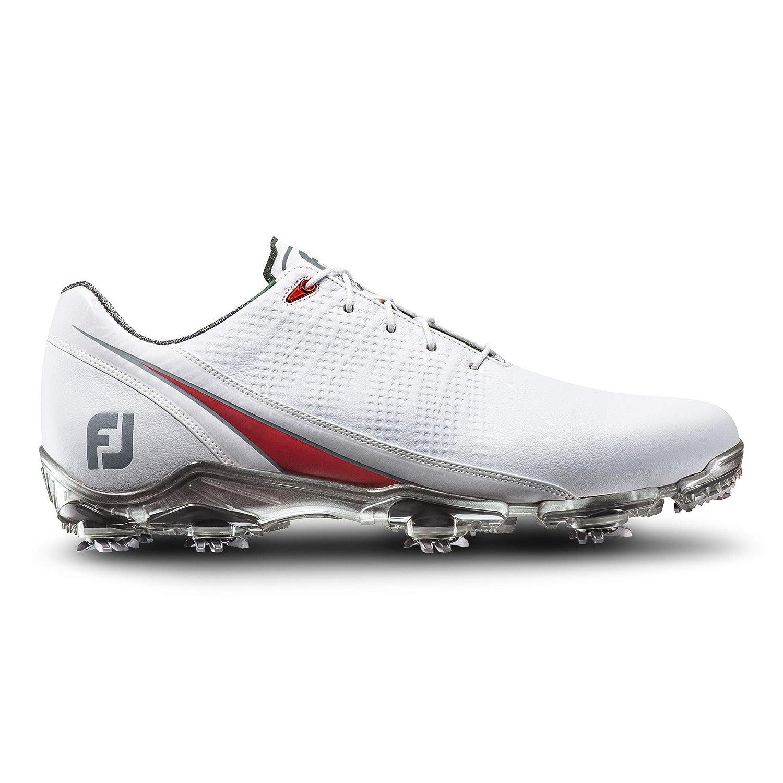 (フットジョイ)FootJoy DNAゴルフシューズ 2016モデル ホワイト/レッド Mサイズ (サイズを選択してください) 53310   B01JMRZQOQ