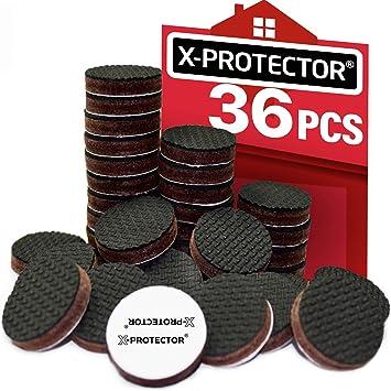 Protectores de piso X-PROTECTOR - 36 Piezas 25 mm ...