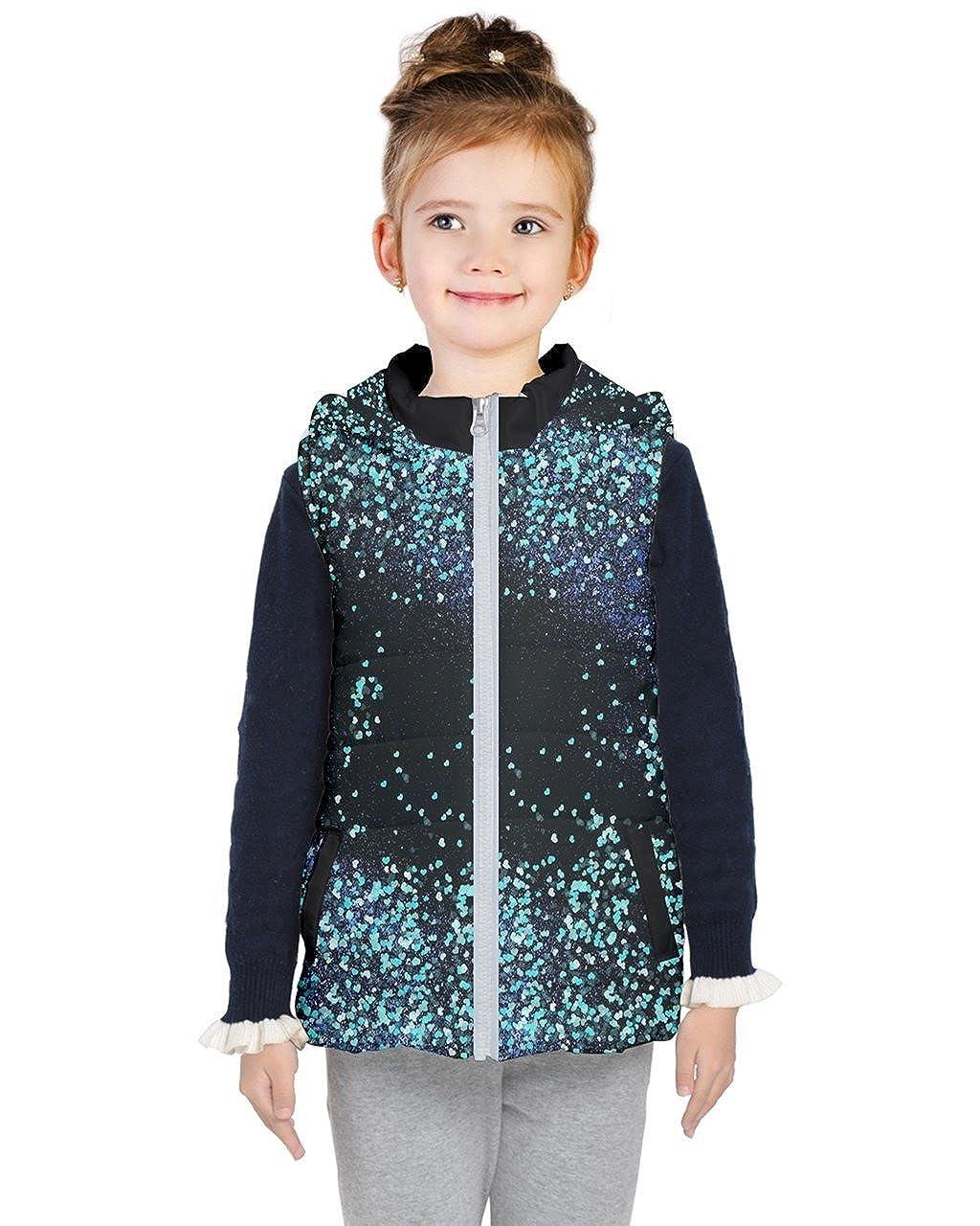PattyCandy Kids Fashion Style Dinosaur Patterns Girls Lightweight Puffer Vest PattyCandy-135823947