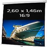 Kimex 260MA 16/9 Ecran Manuel de 146 x 260 cm