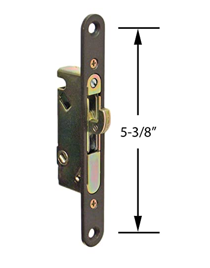 FPL #3 45 S Sliding Glass Door Replacement Mortise Lock With Adapter Plate