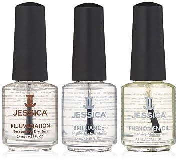 Amazon.com: Jessica Three Piece Dry Nails Kit: Luxury Beauty