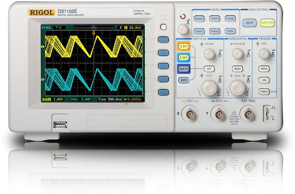 Rigol DS1102E Digital Oscilloscopes - Bandwidth: 100 Mhz, Channels: 2