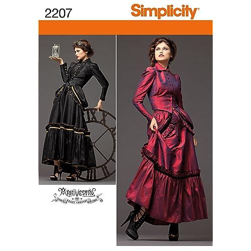 Victorian Sewing Pattern: Amazon.com