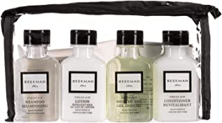 product image for Beekman 1802 Fresh Air Goat Milk Amenity Kit - Shower Gel, Shampoo, Conditioner, Body Lotion, Face Soap And Body Soap