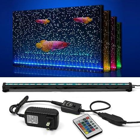 Amazon Com Szminiled Led Fish Tank Light 20 4 Inch Aquarium Light