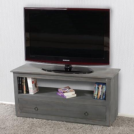 Mueble para televisor,-Cómoda mueble bajo,, 1 hueco, 1 cajón ...