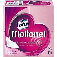 Lotus Moltonel Plat Triple Epaisseur 8 Paquets (lot de 6 packs soit 48 paquets)