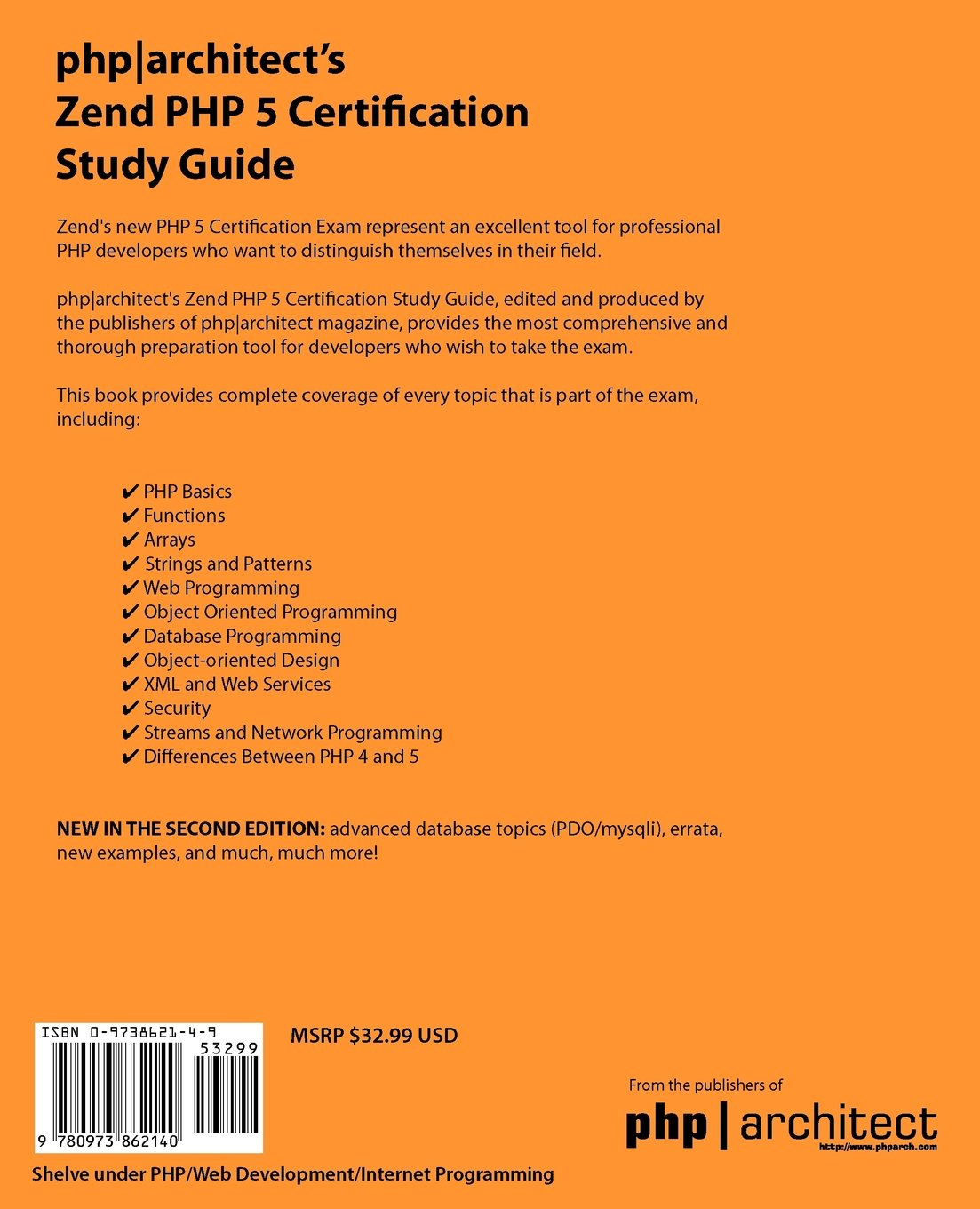 Phparchitects zend php 5 certification study guide davey shafik phparchitects zend php 5 certification study guide davey shafik ben ramsey 9780973862140 amazon books 1betcityfo Choice Image