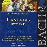Edition Bachakademie Vol. 15 (Geistliche Kantaten BWV 43-45)