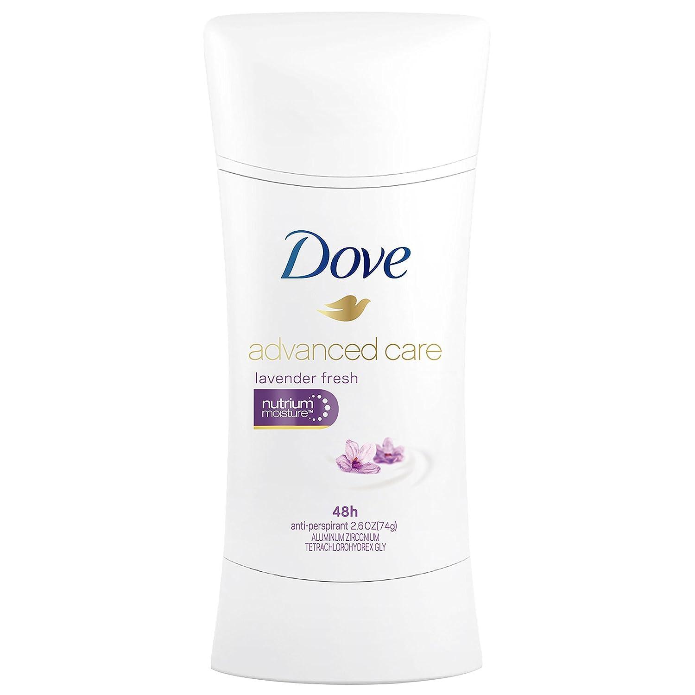 Dove Advanced Care Antiperspirant Deodorant, Lavender Fresh, 2.6 Oz