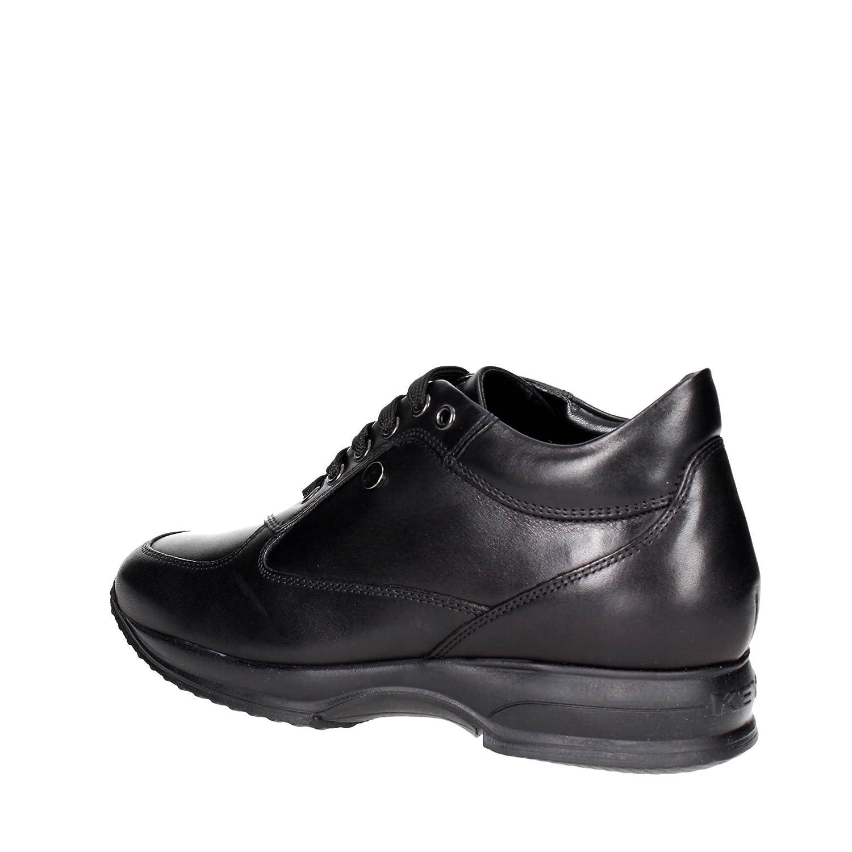 Keys Scarpe Donna scarpe da ginnastica ginnastica ginnastica Pelle Nera 7001-NERO 4b360a
