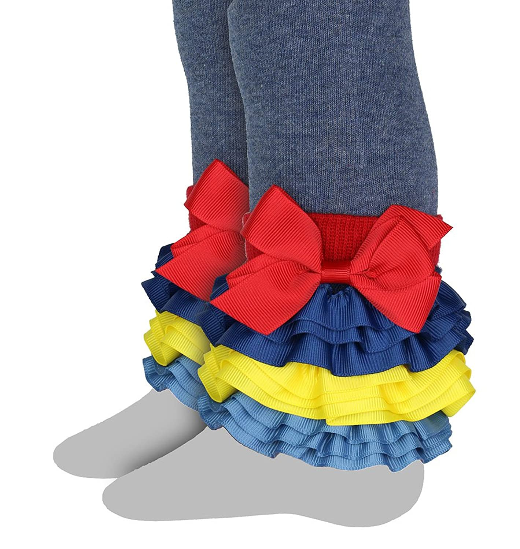 Leggings Interchangeable Ruffles Celegrity-Girls Footless Tight