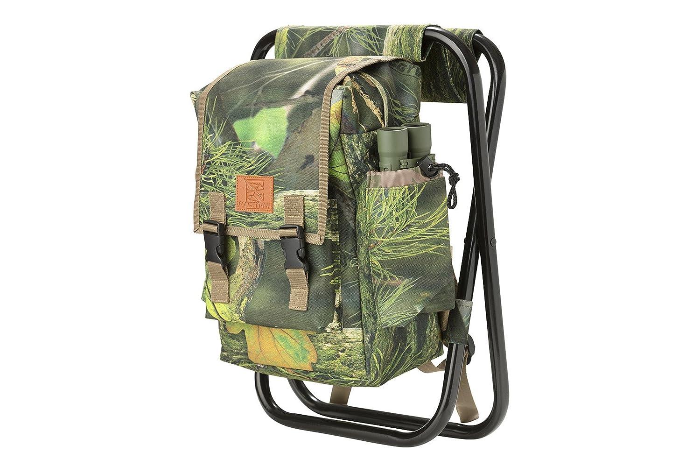 Ukgood new camouflage zaino borsa termica in acciaio sedia ad alta