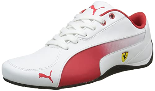 f496125168 Puma Drift Cat 5 SF Zapatillas, Hombre, Blanco (White/Rosso Corsa), 42.5  EU: Amazon.es: Zapatos y complementos