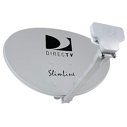 Direct Tv Satellite >> Amazon Com Direct Tv Directv Dtv Slimline Satellite Dish